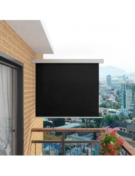 Auvent latéral de balcon multifonctionnel