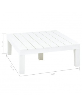 Table basse de jardin durable