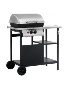 Barbecue à gaz et compartiments