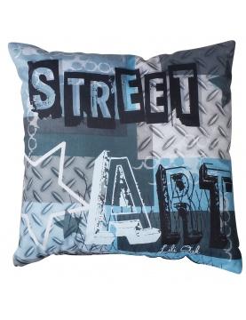 Coussin imprimé Street Art