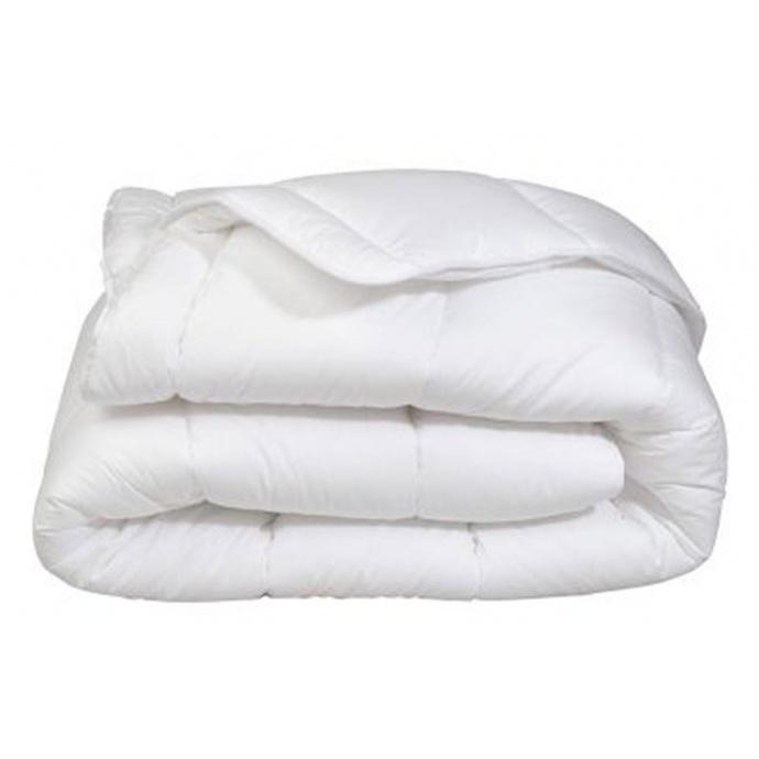 Couette Mi-Saison Enveloppe Coton Protection (Blanc)