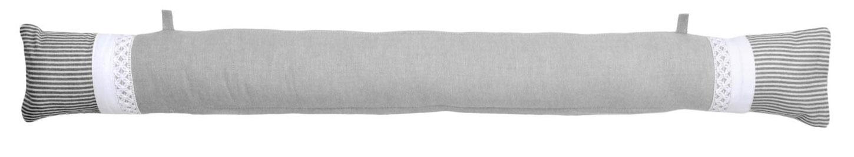 coussin bas de porte naturel gris lin homemaison. Black Bedroom Furniture Sets. Home Design Ideas