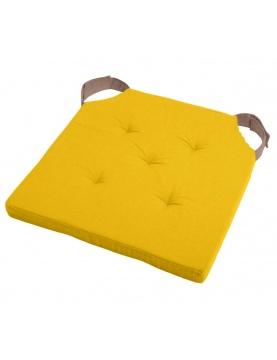 Almohadilla de silla bicolor