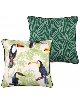 Coussin Biface Tropical