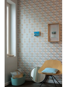 Papier Peint Origami Scandinave