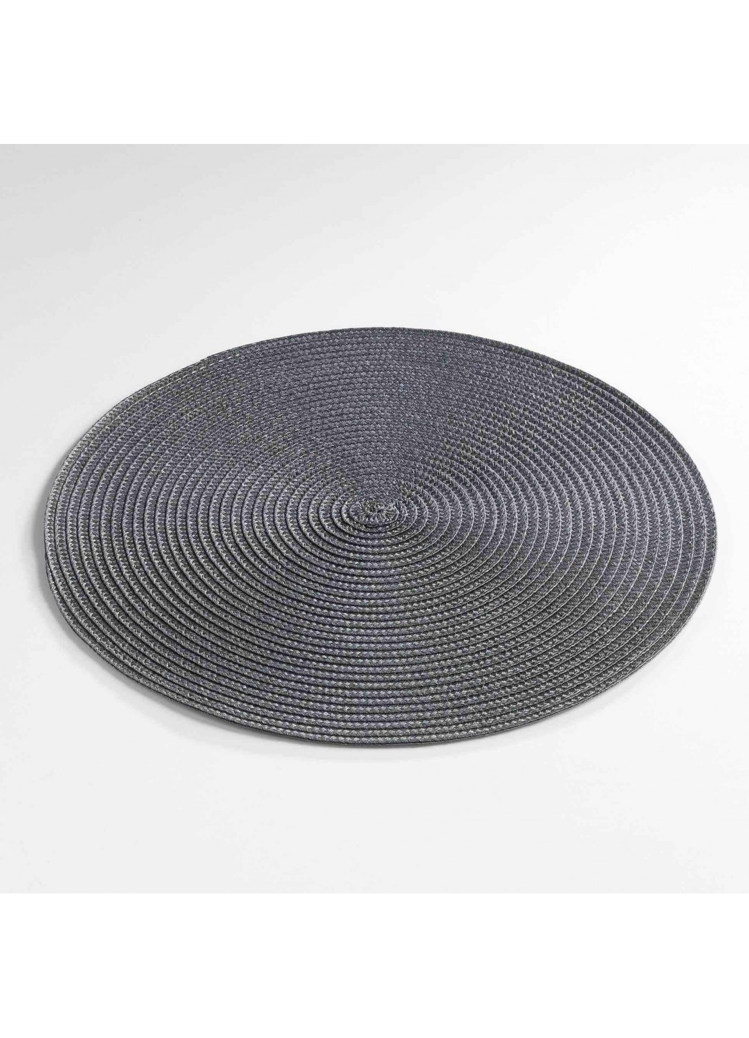 Set de Table Rond et Coloré  (Anthracite)