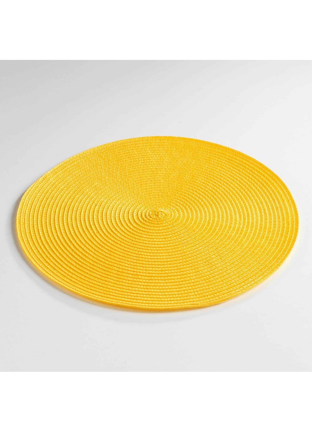 Set de Table Rond et Coloré  (Jaune)