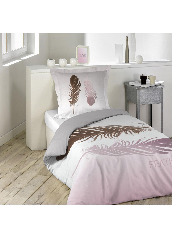 parure de lit double plumes sans homemaison vente en ligne parures de lit. Black Bedroom Furniture Sets. Home Design Ideas