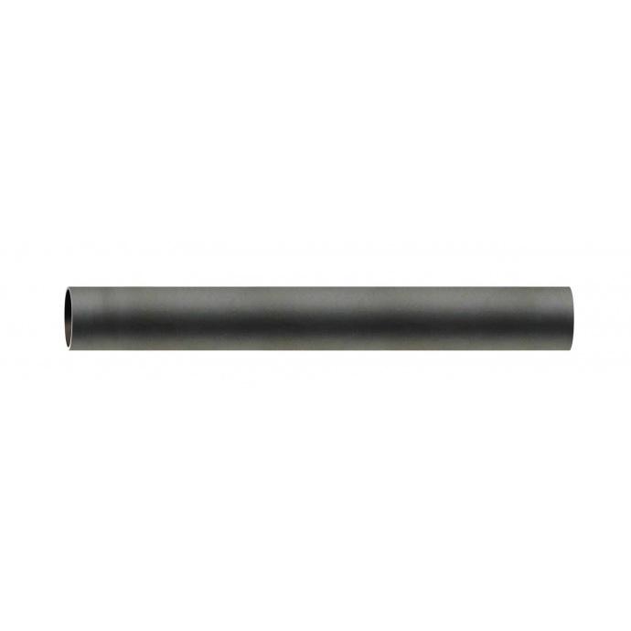 Tube nu diam 28 mm en Fer Forgé Noir 2 m (Noir)
