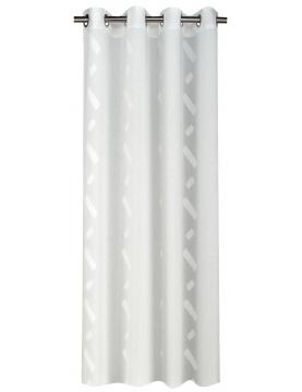 Voilage bicolore avec motifs