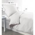 Housse de couette 140 x 200 cm (Blanc)