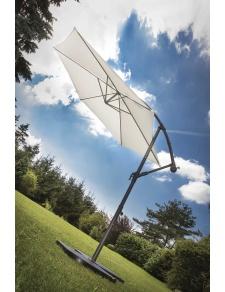 Parasol Ø 3 m Mat Déporté à Manivelle