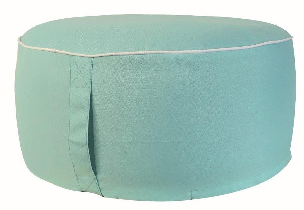 Pouf en Coton Outdoor (Turquoise)