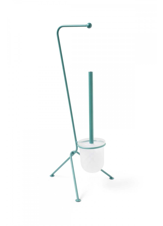 Serviteur Wc Design (Bleu)