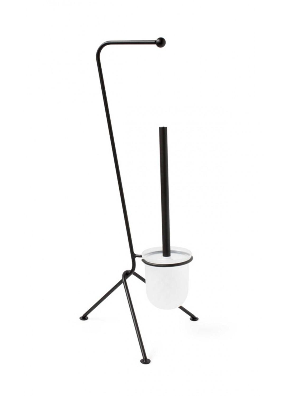Serviteur Wc Design (Noir)