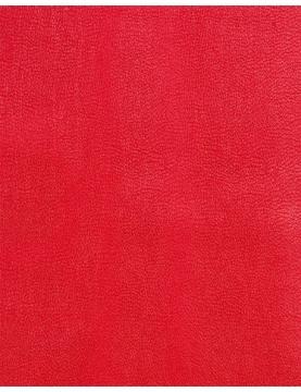 Tissu en Simili Cuir (Rouge)