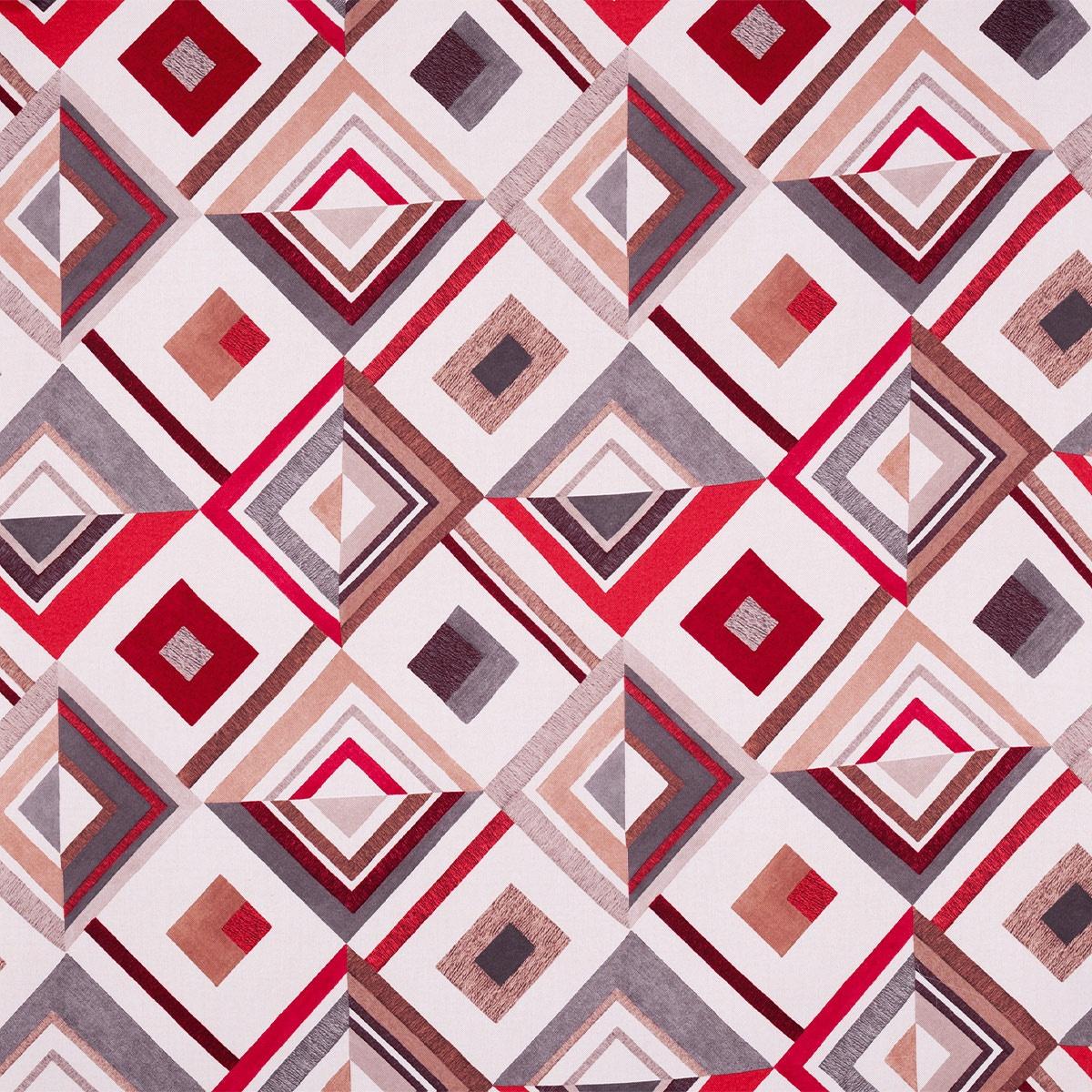 Tissu motifs géométriques