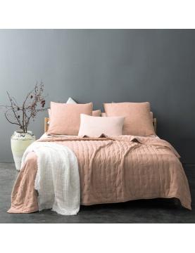 Couvre lit matelassé et moelleux