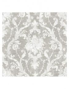 Tissu obscurcissant motif grands fleurs baroques