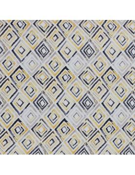 Tissu motif losanges graphiques