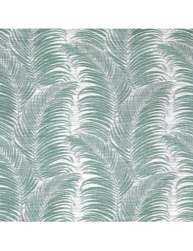 Tissu imprimé aux motifs de palmes