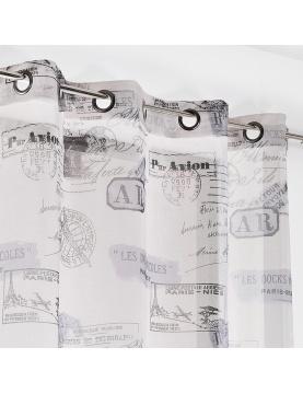Cortina opaca impresión tampones de pasaporte