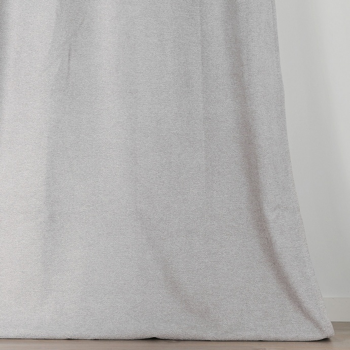 Rideau obscurcissant aspect laine chinée (Ecru)