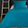 Couvre lit et taie matelassés (Bleu)