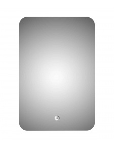 Miroir 'Led Silver Moon'