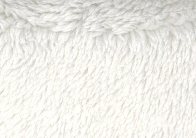 Tissu Polaire à Poils longs en 100 % Polyester