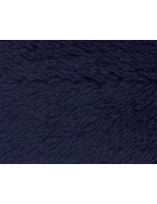 Tissu Polaire à Poils longs en 100 % Polyester (Bleu Marine)