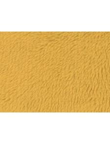 Tissu Polaire à Poils longs en 100 % Polyester (Jaune)