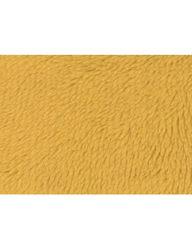 Tissu Polaire à Poils longs en 100 % Polyester (Blanc)