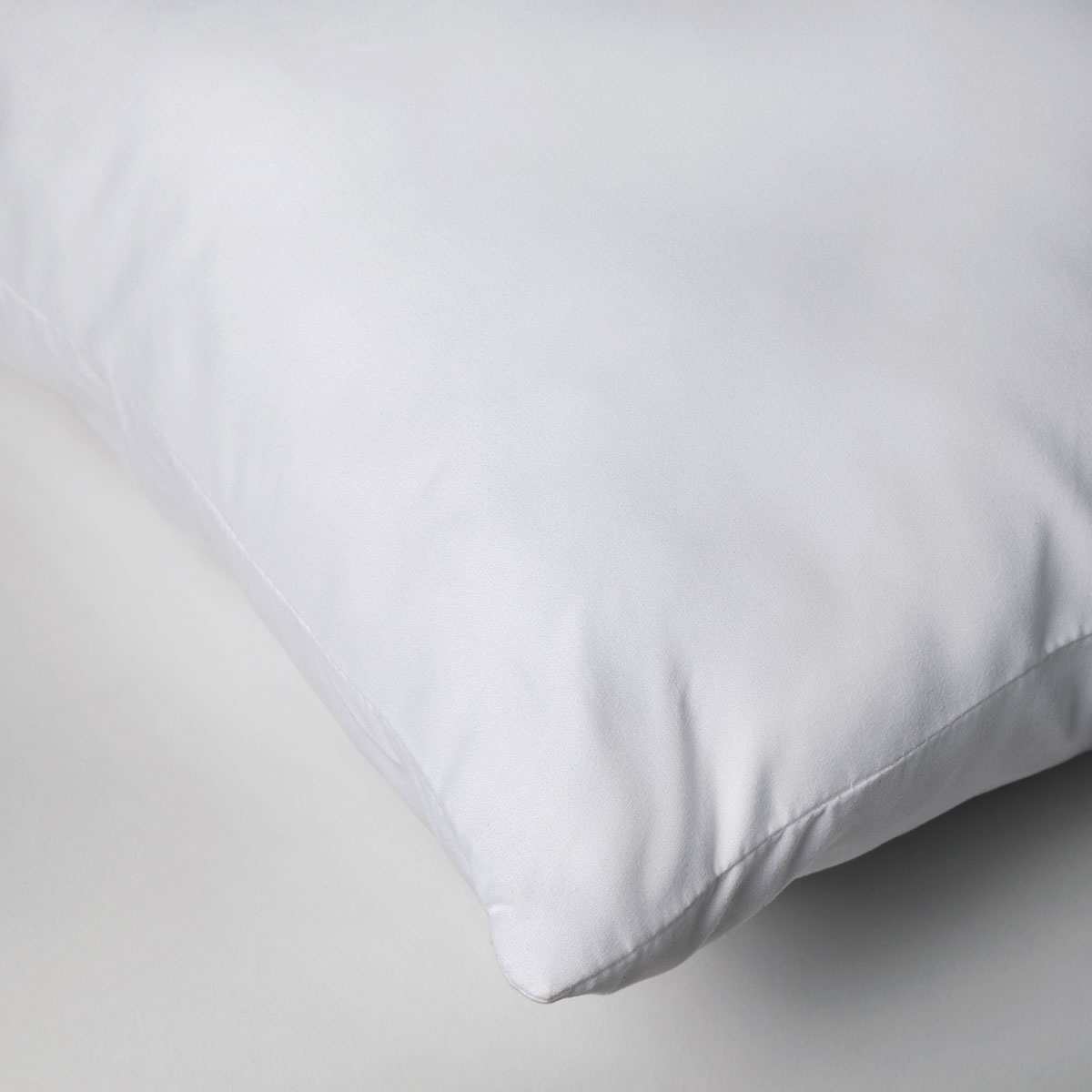 Oreiller Rectangle Microfibre Premium (Blanc)