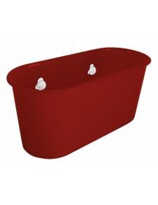 Panier à ventouse Trendy Rouge