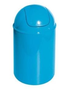 Poubelle à bascule Color Turquoise