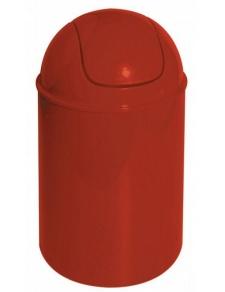 Poubelle à bascule Trendy Rouge
