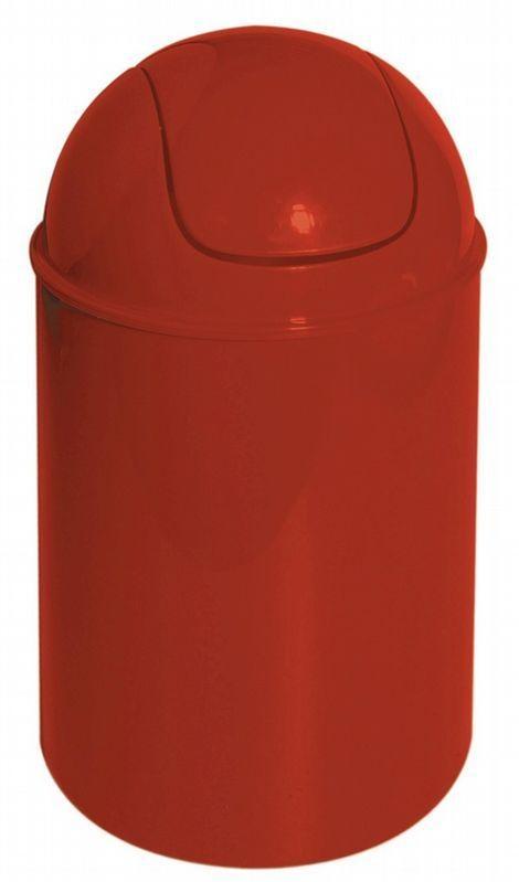 Poubelle à bascule Trendy Rouge (Rouge)