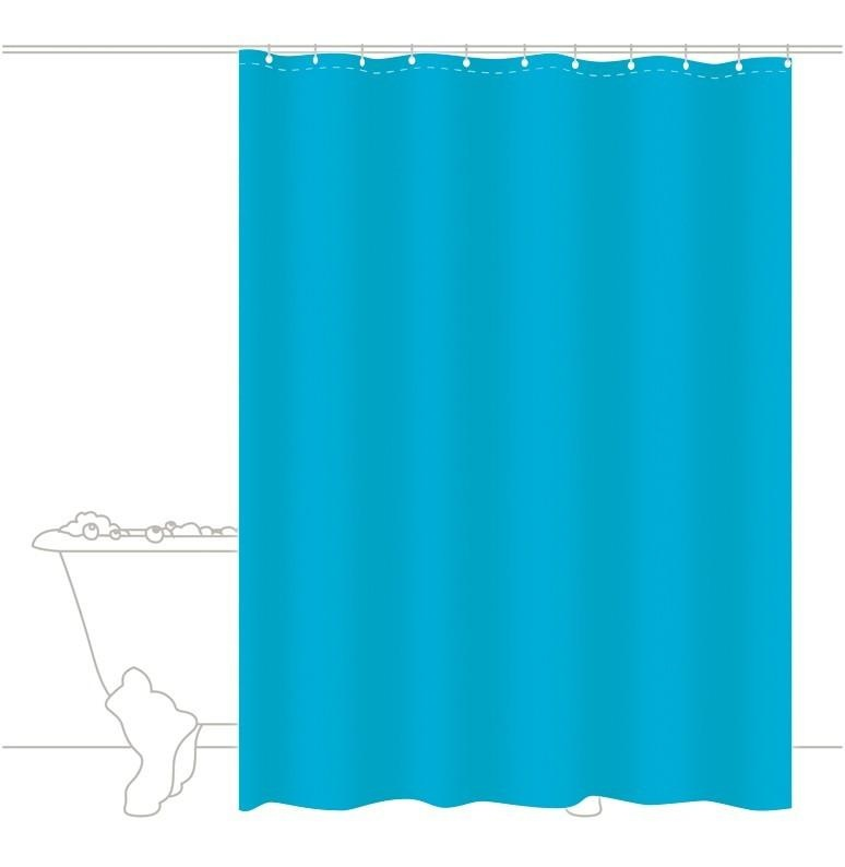 Rideau de douche COLOR Turquoise (Turquoise)