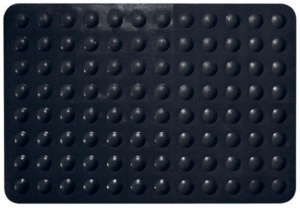 Tapis antidérapant Color Noir (Noir)