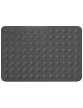 Tapis anti-dérapant Trendy Anthracite
