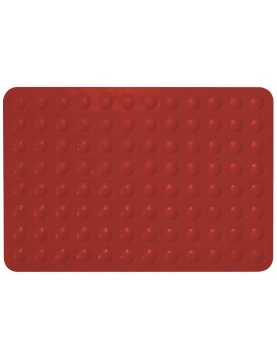 Tapis anti-dérapant Trendy Rouge