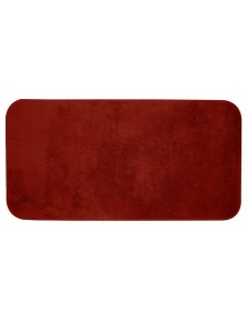Tapis de bain Trendy grand format rouge