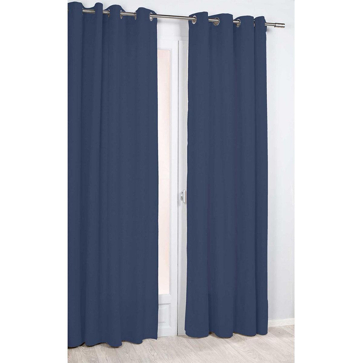 Rideau Uni et Intemporel (Bleu)