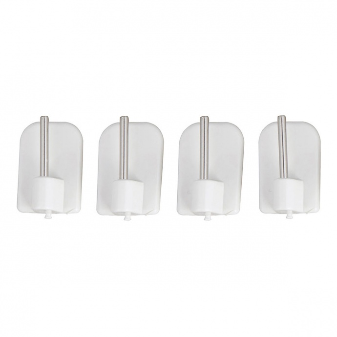 4 Fijaciones Adhesivas Plástico