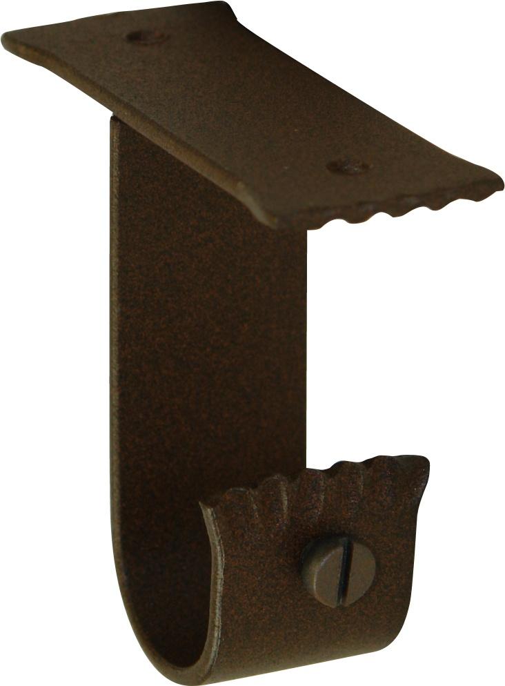Support Plafond en Fer Forgé Rouille (Rouille)