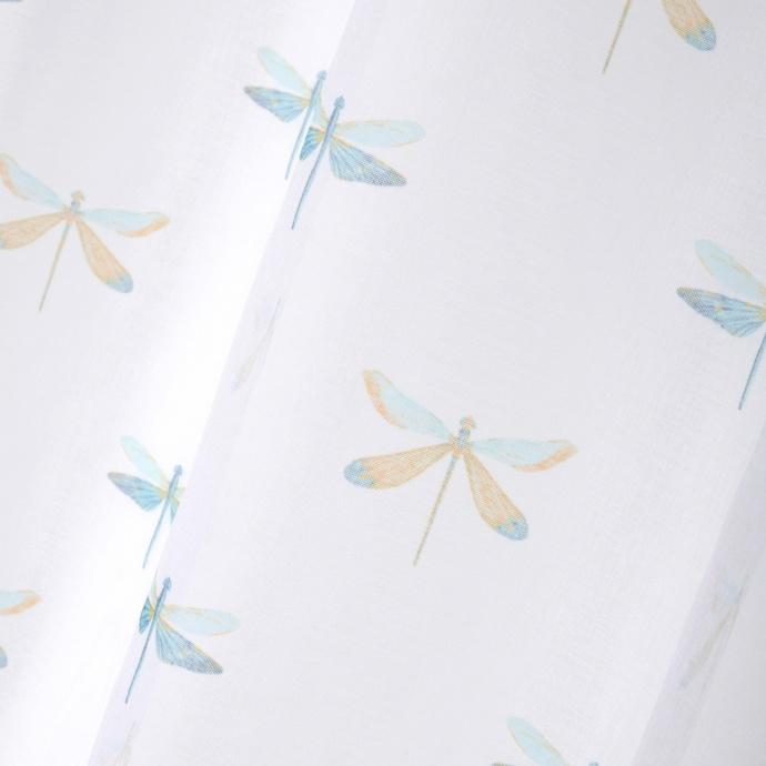 Voilage aux mille libellules (Blanc)