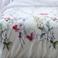 Parure de lit bucolique et champêtre (Blanc)