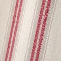 Rideau d'ameublement à effet tapissier d'antan (Rouge)