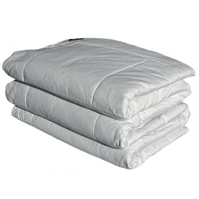 Couette Soie Hiver 380 g  (Blanc)
